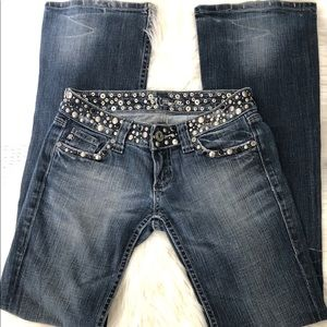 Miss Me Womens Sz 25 JP42888 Anchorage Denim